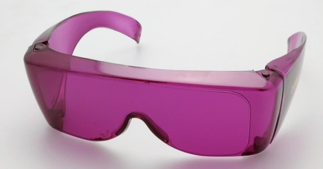 lunettes violettes